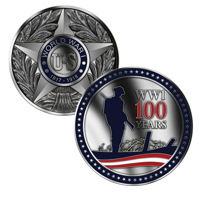 Official WW1 Centennial Coin