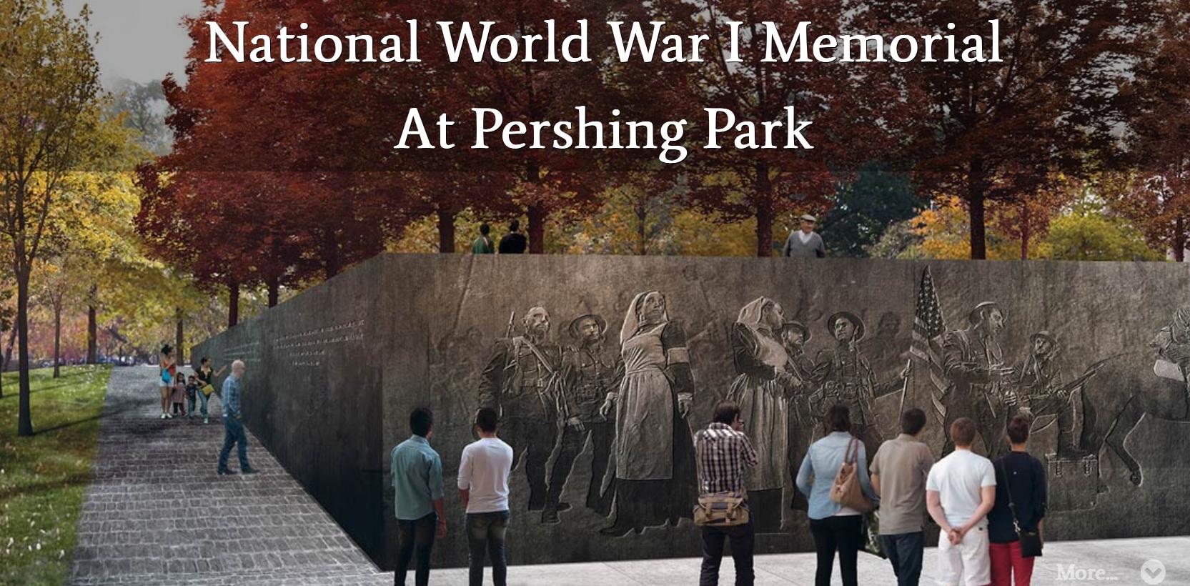 National WWI Memorial At Pershing Park