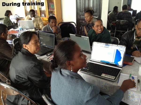 Kelly's training in Madagascar