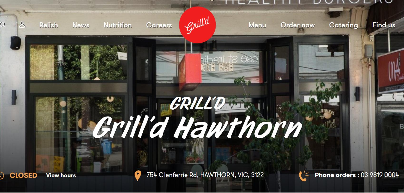 Grill'd Hawthorn