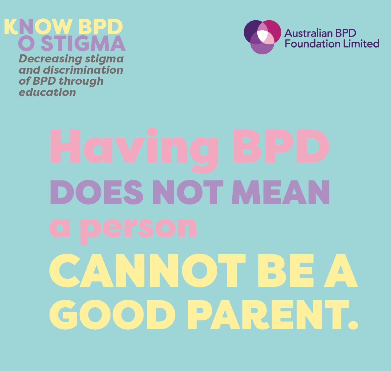 BPD Parent