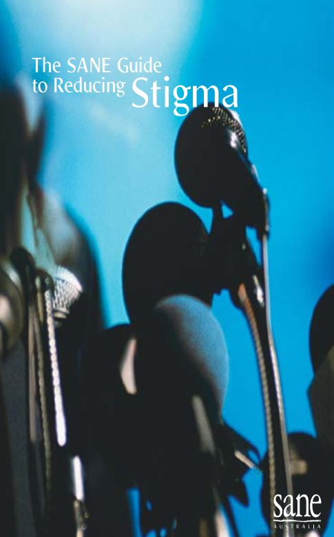 Image SANE guide reducing Stigma