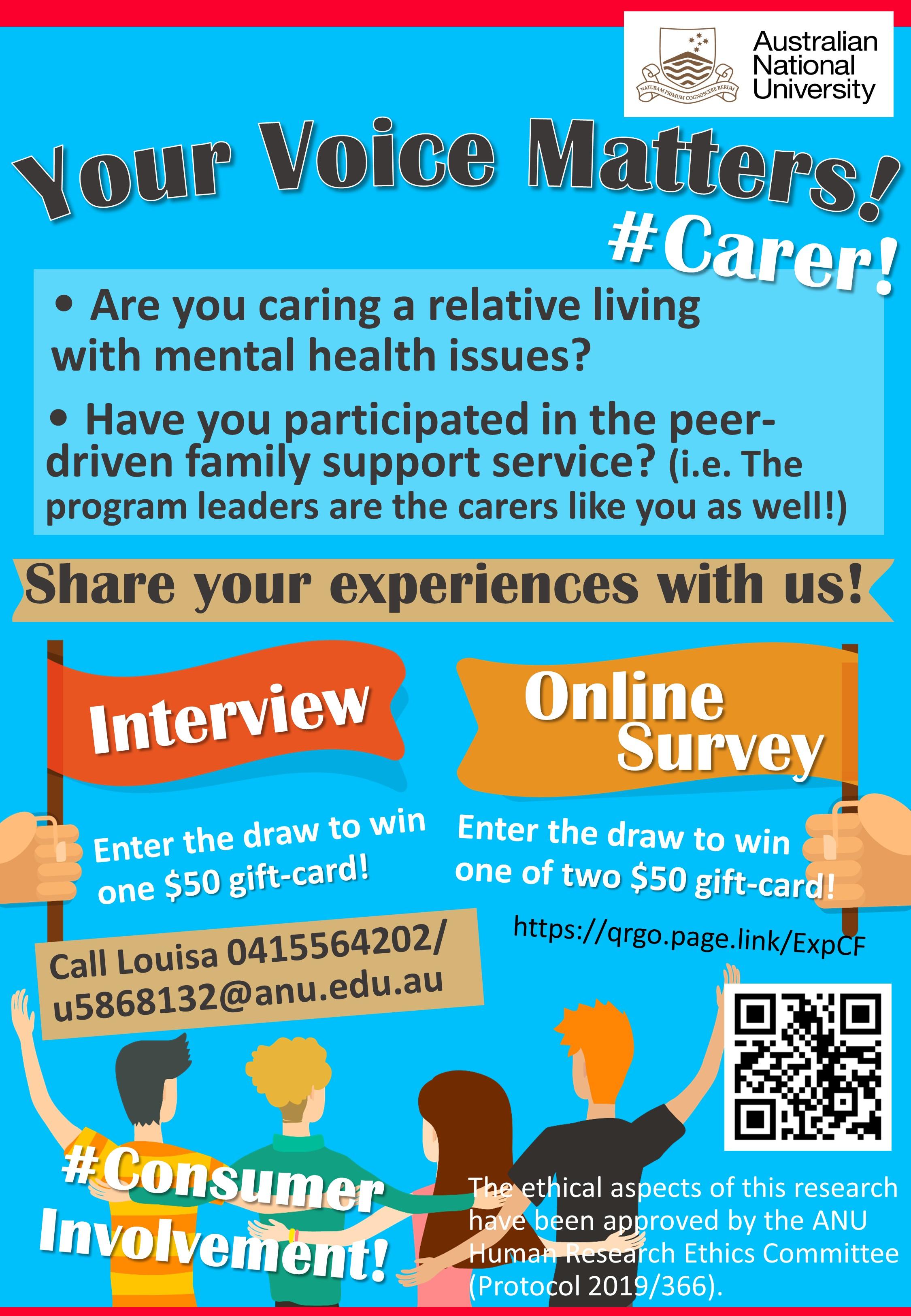 Carer survey