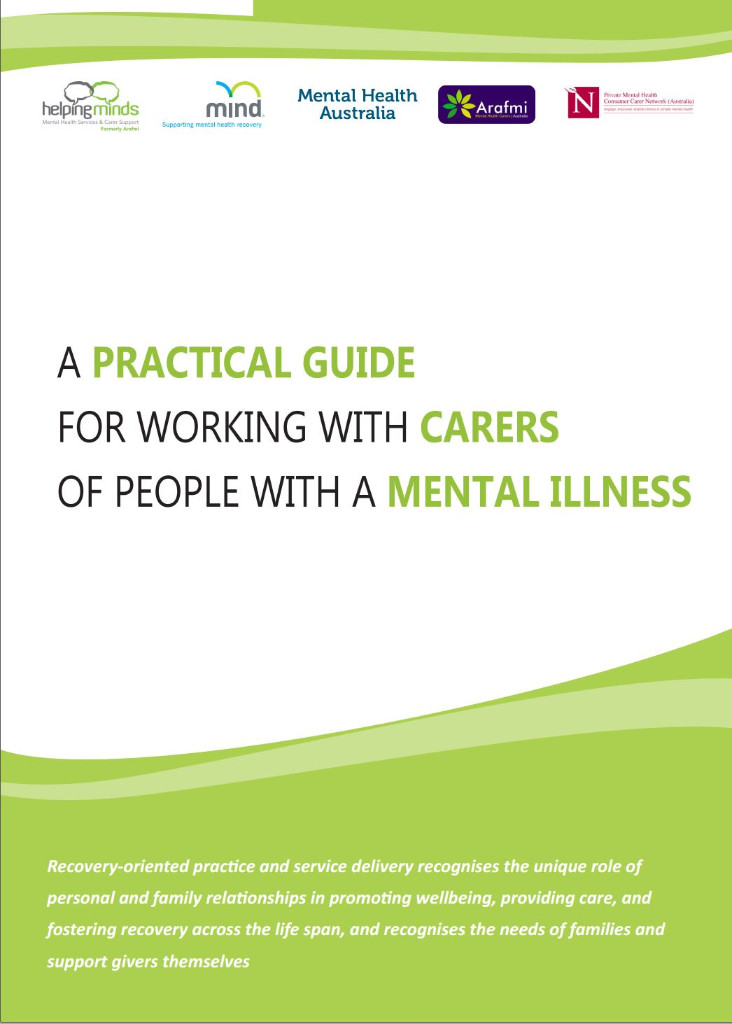 Image Practical Guide Carers Mental Illness