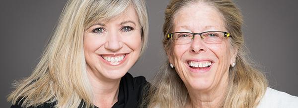 L-R: Monica Worline and Jane Dutton