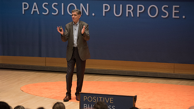 Fred Keller at Positive Business Conference