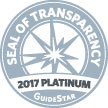 GuideStar 2017 Platinum