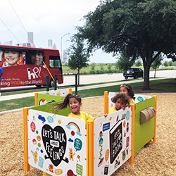 Revamped playground helps kids lead healthier lives