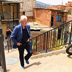President Clinton in Colombia