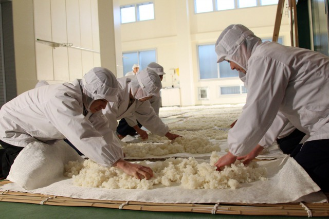Ishimoto Sake Brewery Workers