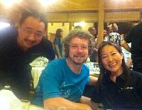 Philip Harper, Malcolm and Nadine Leong