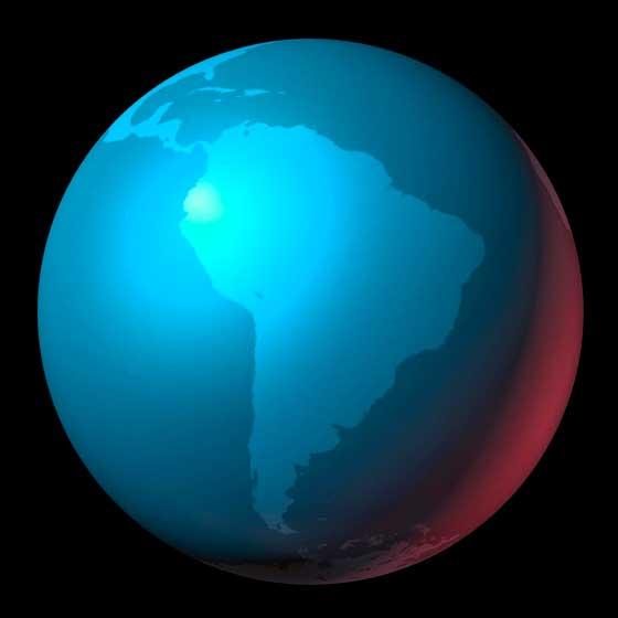 Erde Lateinamerika
