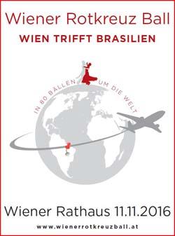 Wiener Rotkreut Ball: Wien trifft Brasilien