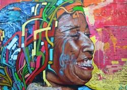Graffiti in Kolumbien