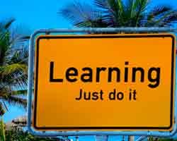 Bild: Learning - Just do it!