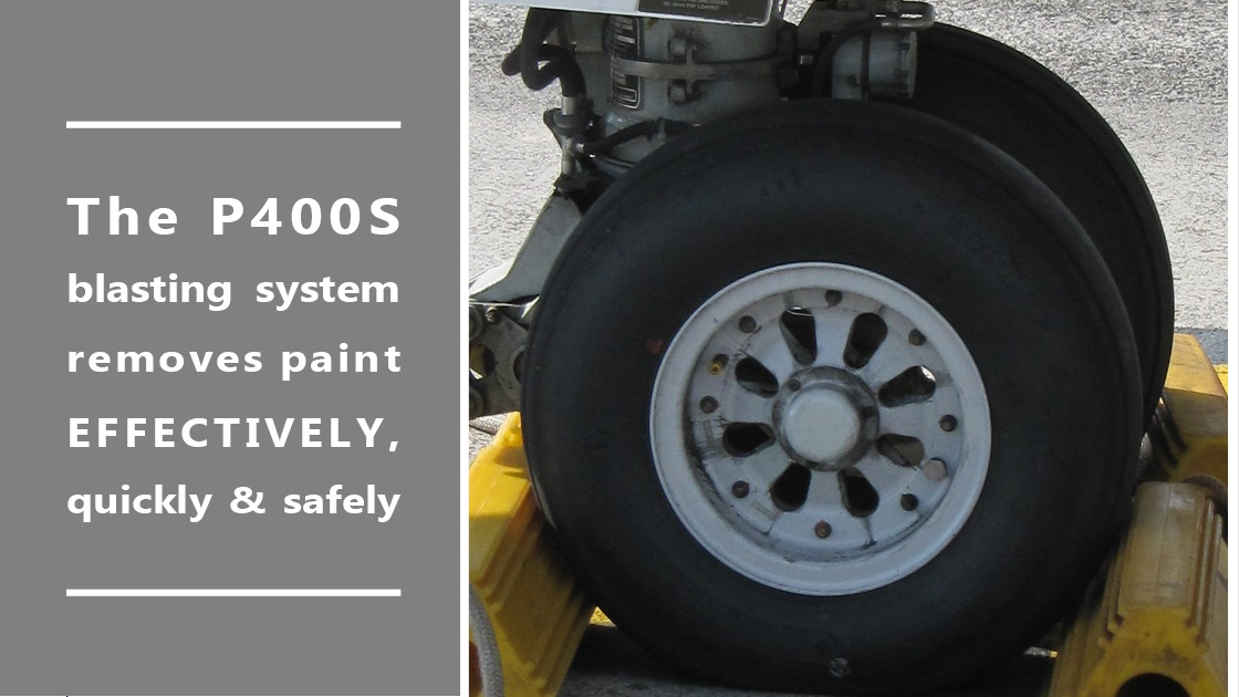 stripping aircraft wheel paint in no-time