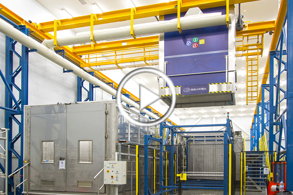better chemical cleaning line for the aerospace industry