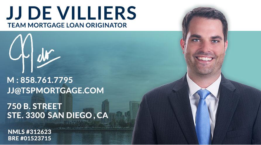 JJ De Villiers - Team Mortgage Loan Originator   Transparent Mortgage