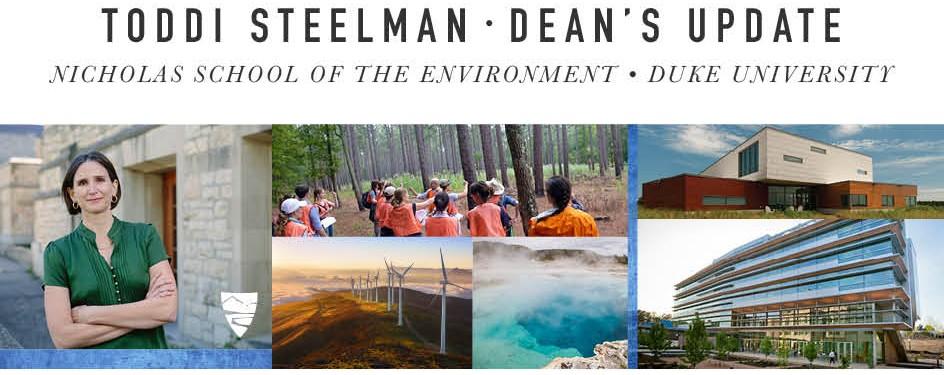Toddi Steelman | Dean's Update