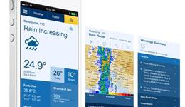 BOM weather app