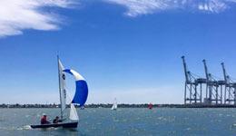 boats sailing