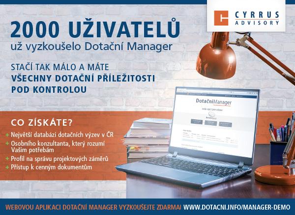 Dotační Manager