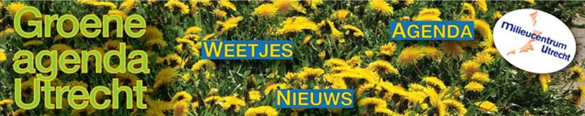 De Groene Agenda is een service van Milieucentrum Utrecht