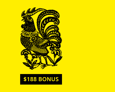 Celebrate the Year of the Rooster with a $188 bonus.
