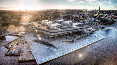 Dokk1 - Public library, Aarhus, Denmark