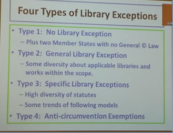Four Types of Library Exceptions