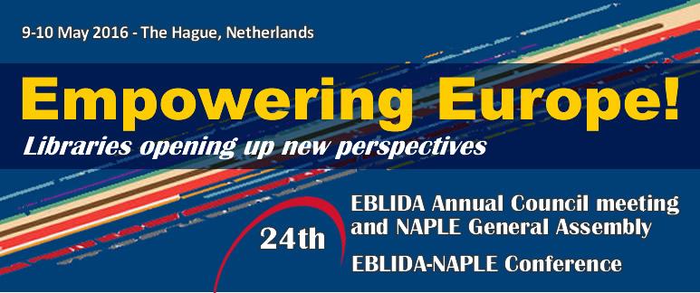 24th EBLIDA Annual Council Meeting & EBLIDA-NAPLE Conference