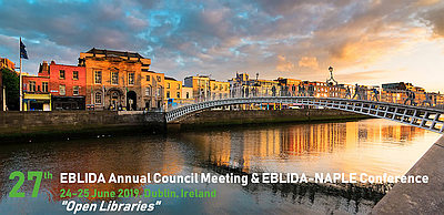 EBLIDA Council and EBLIDA-NAPLE Conference Dublin, Ireland 24-25 June, 2019