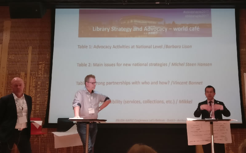 Session 2 : Library Strategy and Advocacy – world café session