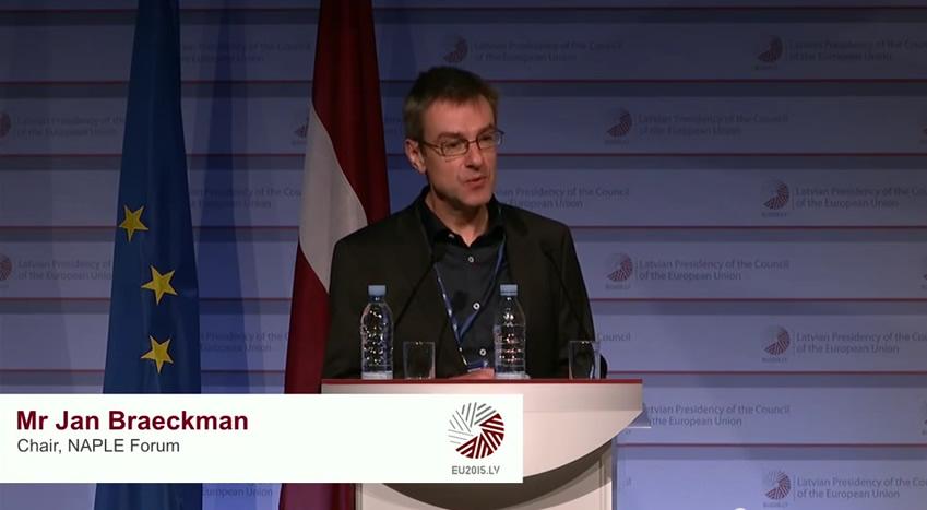 Jan Braeckman, Chair of NAPLE