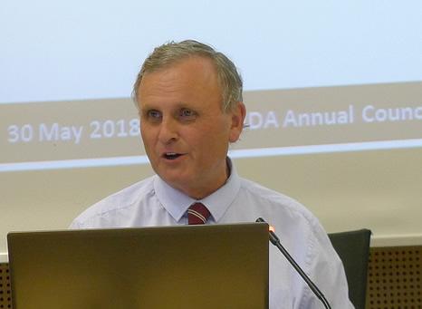 Guy Daines, EBLIDA Executive Member