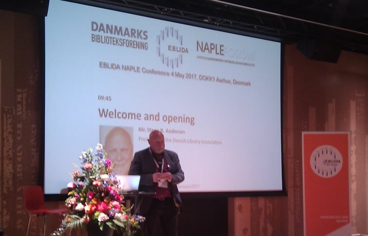 Mr. Steen B Andersen, president of the Danish Library Association