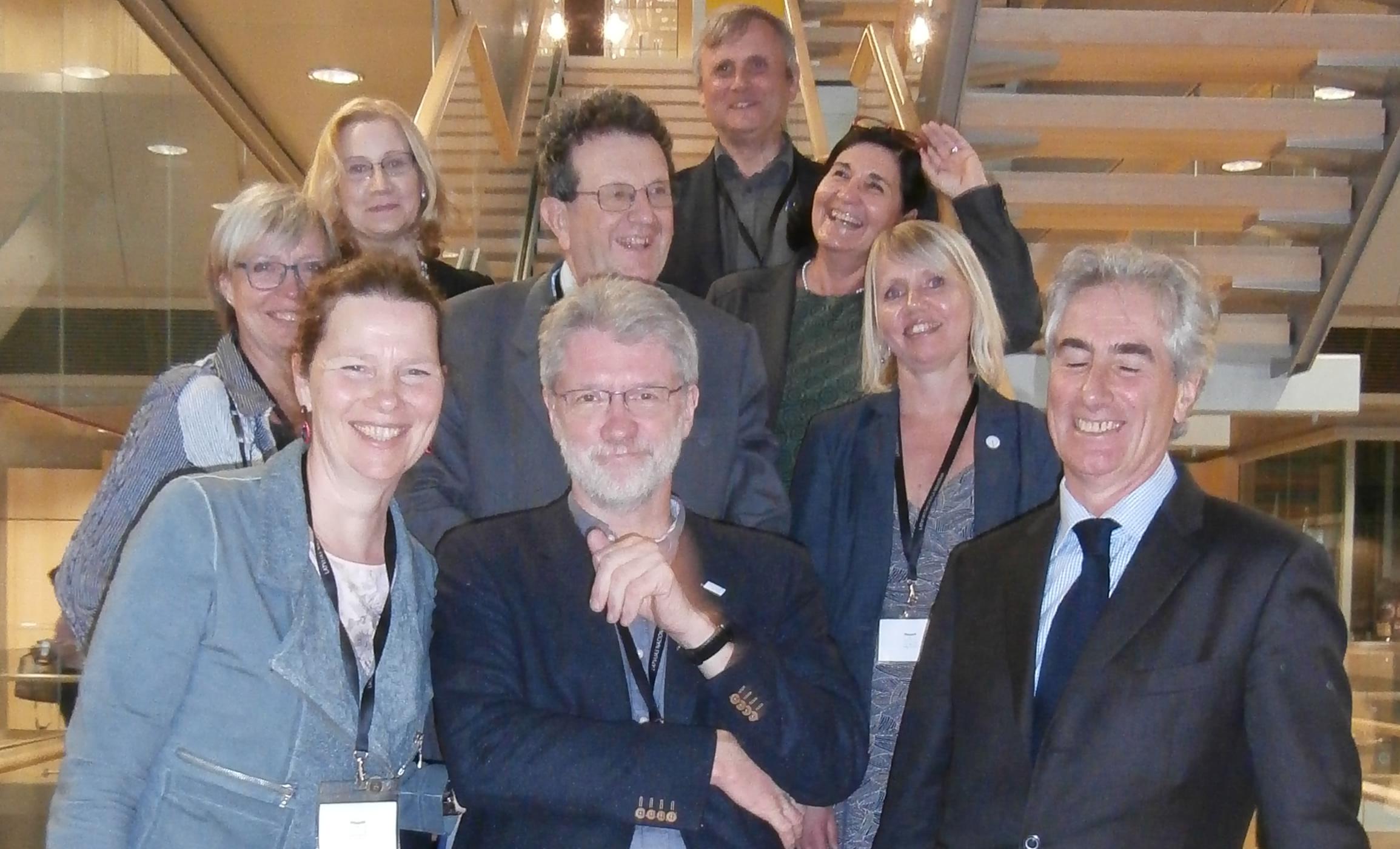 Outgoing Executive Committee EBLIDA