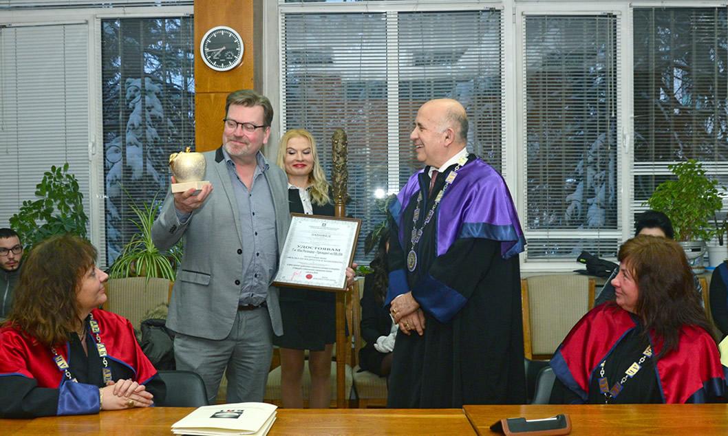 Prof. Stoyan Denchev & Mr Jukka Relander