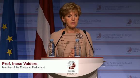 Inese Vaidere, Member of the European Parliament