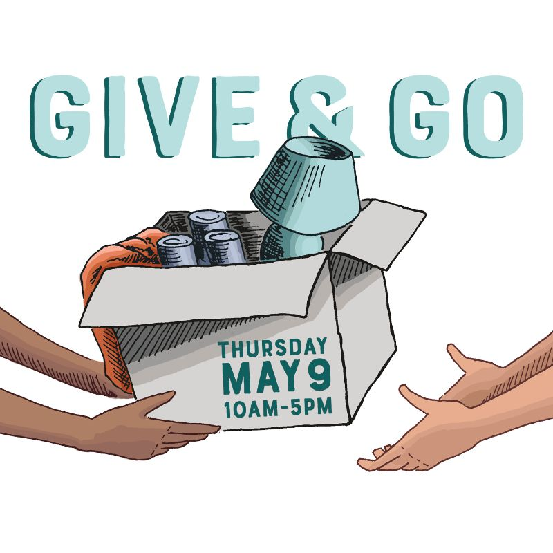 Donate Reusable Items at Give and Go