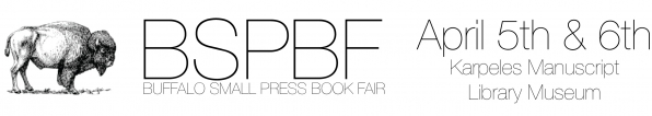 2013 Buffalo Small Press Book Fair