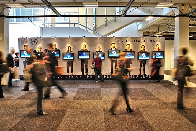 'Voices of the People' at COP15 in 2009 - are they being heard yet? Photo: Troels Dejgaard Hansen via Flickr