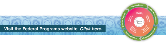 Visit the Federal Programs website.  Click here.
