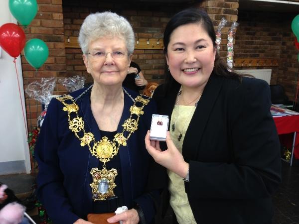 With Speaker Lesley Pavitt