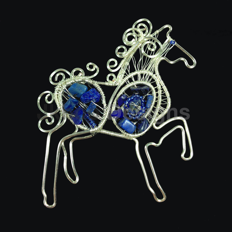 Lapis Lazuli Horse