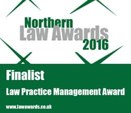 Finalist Law Practice Management Award