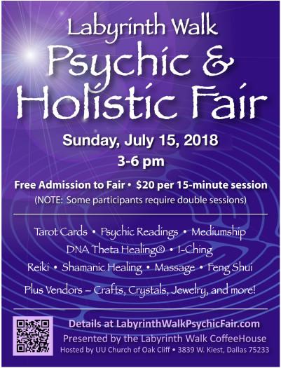 LWCH Psychic & Holistic Fair
