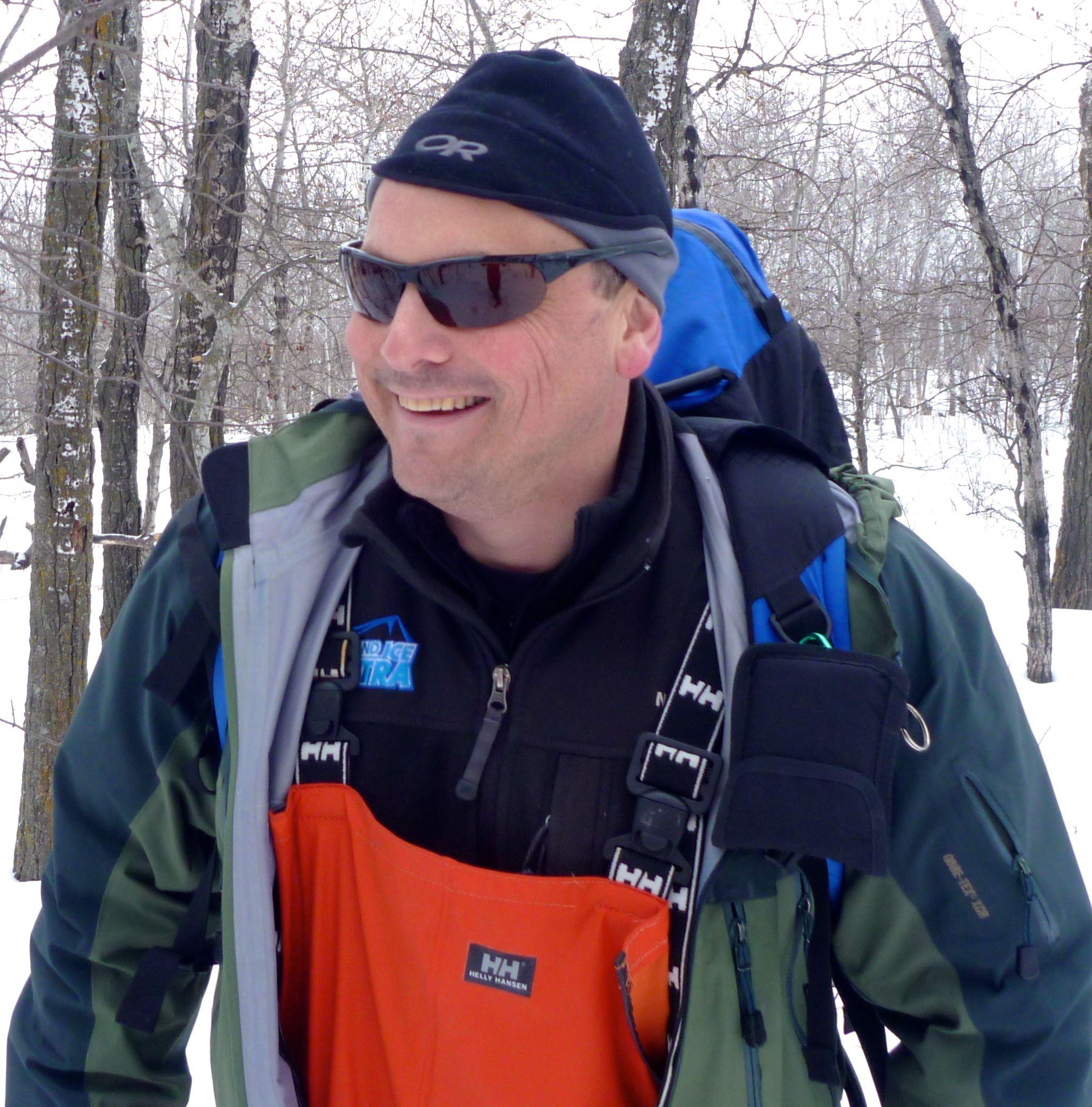 Jeff at Basic Searcher Training