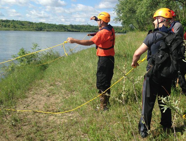 near water search training