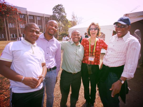 Marianne & teachers